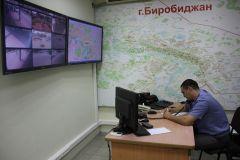 В Биробиджане проходит установка дистанционного видеонаблюдения