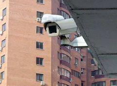 Видеокамеры во дворах жилых домов